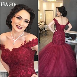 $enCountryForm.capitalKeyWord Canada - Custom Made Off The Shoulder Evening Dresses With Corset Back 2019 Lace Formal Occasion Gowns Long Prom Dress Party Robe de soirée