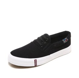 Spring Fall Canvas Shoes Australia - 2019 canvas denim wear women's casual shoes 2019 new best-selling women's shoes spring and fall