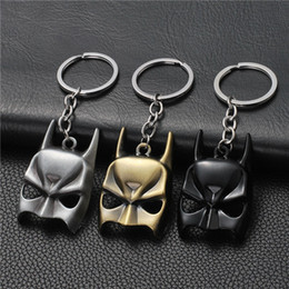 $enCountryForm.capitalKeyWord NZ - 17 styles Superohero Batman Movie Metal Keychain Avengers Bat Man Logo Key Chain Keyring Anime Figure Pendant Key Holder Xmas Trinke jssl001