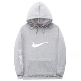 wholesale women fashionable tops NZ - Fashionable Designer Hoodies For Mens Women Sweatshirts Gray2 New Fashion Sport Brand Sweater Hoodies Hot Top Clothing 5 Color Optional