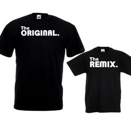 14ccadeb6 The Original Remix T Shirts Dad Kids Fathers Day Birthday Christmas Gift  Set Top Men Women Unisex Fashion tshirt Free Shipping