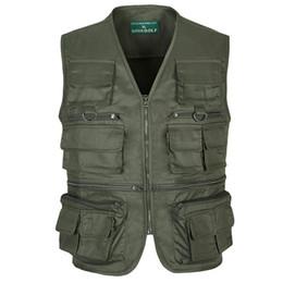 $enCountryForm.capitalKeyWord Australia - 2016 Multi Function Vests High Quality Casual Men's Multi Pocket Photography Vest