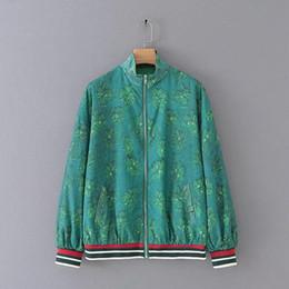 $enCountryForm.capitalKeyWord Australia - autumn new woman Cartoon print zip coat Floral print Color stripe Contrast color slim jackets male casual outerwear
