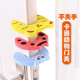 door stopper animals Australia - 5pcs lot Child Safety Protection Baby Safety Animal Security Card Door Stopper Baby Care Newborn Protect Lock Finger Protector