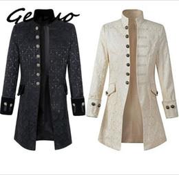 $enCountryForm.capitalKeyWord Australia - Genuo 2019 New Geek Mens Wool Coat Jacket Double-breasted Mens Overcoat Long Sleeve Men Coat Winter Slim Solid Male Trench