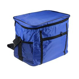 $enCountryForm.capitalKeyWord Australia - Portable Oxford Cloth Camping Travel Waterproof Ice Box Outdoor Picnic Bag Insulation Package Insulated Tote Bag Storage Contain