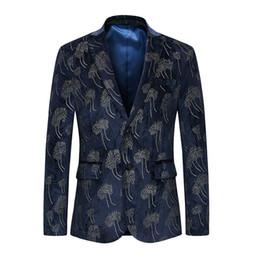 $enCountryForm.capitalKeyWord UK - XIU LUO 6XL Mens Blazer 2019 Blazer Masculino Slim Fit Single Breasted Fashion Male Stage Wear Casual Masculino