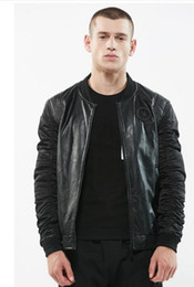 $enCountryForm.capitalKeyWord Australia - New men's jacket casual fashion stand-up collar baseball suit pilot coat men JACKET