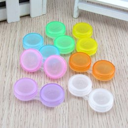 Men's Glasses Search For Flights Easy Carry 1pcs 5.6x5.4x2cm Travel Glasses Contact Lenses Box Contact Lens Case For Eyes Care Kit Holder Container Gift Sales Of Quality Assurance