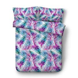 $enCountryForm.capitalKeyWord Australia - 3 Pieces Duvet Cover Set With 2 Pillow Shams Geometric Quilt Comforter Cover Diamond Polka Dot Bedding Set Zipper Closure