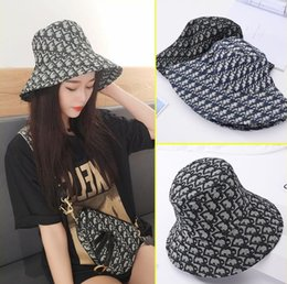 Wholesale New spring and summer 2020 full print fisherman hat, casual joker for women a halfback, personality of the sun hat.