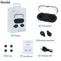 $enCountryForm.capitalKeyWord Australia - Top Quality Bluetooth headphone HBQ Q18 tws wireless earphone Mini sport HIFI earbud headset air dorts+HD Mic for xiaomi huawei phone