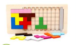 tetris block 2019 - Baby Educational Toys Katamino Blocks Wood Learning Tetris Blocks Tangram Slide Building Blocks Children Wooden Toys Gif