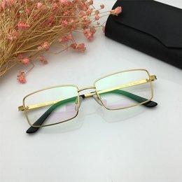 $enCountryForm.capitalKeyWord NZ - 2019 New Men Rectangle Glasses Luxury Designer Retro Full Frame Eyeglasses High Quality Titanium Myopia Eyewear for Reading with Package