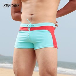$enCountryForm.capitalKeyWord NZ - 2019 Swimwear Men Sexy swimming trunks low rise sunga swimsuit mens swim surf Beach Shorts mayo de praia homens maillot de bain