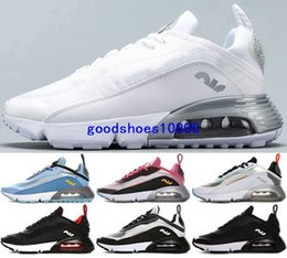Wholesale New air cushion max shoes 2090 Sneakers Running white Stock x Casual Men Cheap Mens women Youth boys enfant size us 5 12 eur 46 Trainers 270