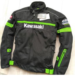 Summer Motorcycle Jacket Xxl Australia - New summer mesh breathable racing suit knight jacket outdoor travel protection motorcycle jackets cycling clothing have protection