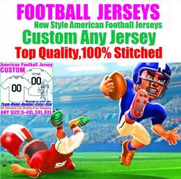 $enCountryForm.capitalKeyWord Australia - Personalized american football jerseys Custom Tennessee Denver college authentic cheap baseball basketball hockey jersey 4xl 6xl 7xl big