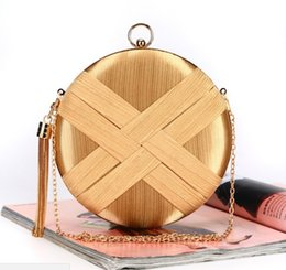 $enCountryForm.capitalKeyWord Australia - Tassel Dinner Bag Handmade Striped Evening Purse Banquet Clutch wallet Tote Party handbag For Women