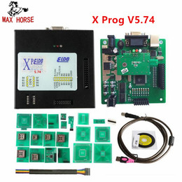 Software Repair Box Australia - Hot Newest Xprog M V5.74 New Generation Released X-PROG M Metal Box ECU Programmer with USB Dongle X PROG ECU Flasher Tool