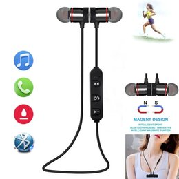 Sport Wireless Headphones For Iphone NZ - Neckband Bluetooth Earphone Wireless Headphone Headset Running Sport Earbuds for Phone MP3 Build-in Microphone