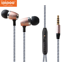$enCountryForm.capitalKeyWord Australia - Ipipoo In-ear Head-phone Mic Volume Control Earphone For Iphone Hifi Earpieces Stereo Super Bass Earbuds
