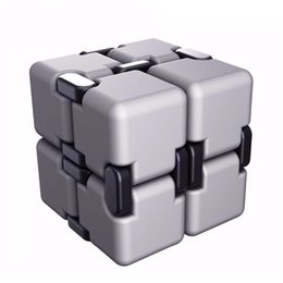 Neo Toys Australia - Infinite For Cube 2 Fidget Cube Anti stress Cuby Neo Spiner Finger Spinners Hand Out Door Magic Toy Cubo Magico Novelty Decompression Toys