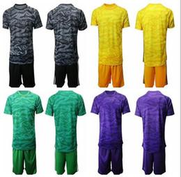 $enCountryForm.capitalKeyWord NZ - 2019 Soccer Jerseys Goalkeeper Uniform Kit 19-20 Adult Men Goalie Blank T shirt Without Team Logo With Ad Long Sleeve Football Shirt