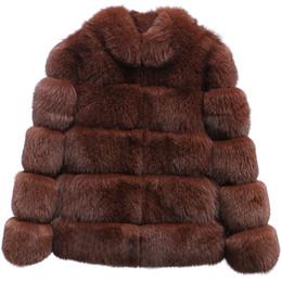 $enCountryForm.capitalKeyWord UK - Womens Winter Faux Fox Fur Gilet Waistcoat Jacket Coat Vest Outwear Gilet Women Warm Gilets Outwear Long Slim Vest Faux Fox Fur