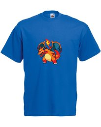 $enCountryForm.capitalKeyWord Australia - 8-Bit Charizard Mens Printed T-Shirt - 100% Cotton Men Short Sleeve Shirt Harajuku Summer 2018 Tshirt Brand shirts jeans Print