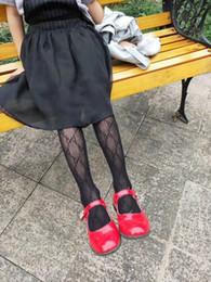 venda por atacado 2-8 bonito Bebés Meninas malha calças justas de malha de cabos Anos Meninas algodão respirável Meia-calça para a criança Meninas Primavera Verão Outono