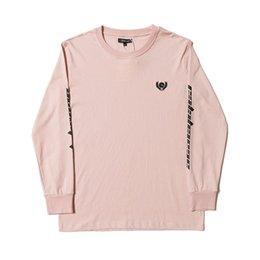 d3cffcb993b 2019 Kanye West Season 5 Oversized Calabasas Logo Emboridery Women Men Long  Sleeve T shirt Hip hop Streetwear Casual Cotton Tee