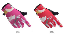 Free Finger Bikes Australia - Sun protection gloves men's summer sports women's thin section short outdoor mountaineering slippery breathable driving bike touch screen ri