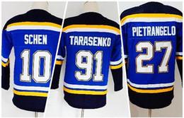 KID Personality Winter 2019 Fanatics 27 PIETRANGELO 0 SCHENN 91 TARASENKO Hockey  Jerseys near me 71fe28f03