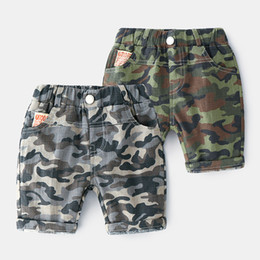 $enCountryForm.capitalKeyWord UK - 2019 Summer New European style Boys Five Pants Cotton Children Military Trousers Kids Camouflage Pant fashion Baby Casual Shorts