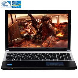 Computers Hdd Australia - ZEUSLAP 15.6inch Intel Core i7 or Intel Celeron CPU 8GB RAM+750GB HDD Built-in WIFI Bluetooth DVD-ROM Laptop Notebook Computer