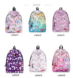 $enCountryForm.capitalKeyWord Australia - RUNNINGTIGER Kid Cute Unicorn Print Backpack Women Fashion School Bag for Teenager Girl Female Travel Escolar Satchel Laptop Doodle Rucksack