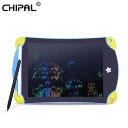 $enCountryForm.capitalKeyWord Australia - CHIPAL 8.5 inch LCD Writing Drawing Tablet Digital Board Erasable Office Pad Paperless Rewritten Notepad for Color Children Gift