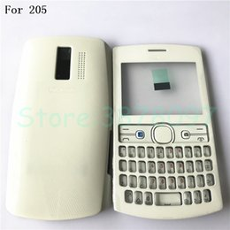 original full housing NZ - Original New Full Complete Mobile Phone Housing Battery Cover For Nokia 205 With English Keypad +Logo