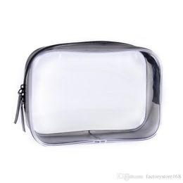 $enCountryForm.capitalKeyWord Australia - Hot Sale PVC Transparent Makeup Bag Plastic Toiletry Bags Travel Portable Mini Pouch Zipper Cosmetic Bag
