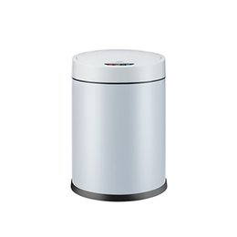 Steel Induction Canada - Automatic trash can no touch intelligent sensor trash can and inner barrel non-contact circulator quiet cover off home automatic open cover