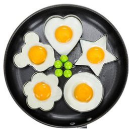$enCountryForm.capitalKeyWord Australia - Stainless Steel Fried Egg Shaper Pancake Mould Mold Kitchen Cooking Tools Kitchen Fried Egg Shaper Ring Pancake Mould