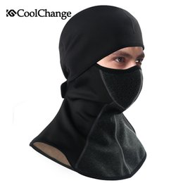 $enCountryForm.capitalKeyWord Australia - CoolChange Winter Cycling Cap Fleece Thermal Keep Warm Windproof Face Mask Bicycle Skiing Hat Cold Headwear Bike Face Mask Scarf