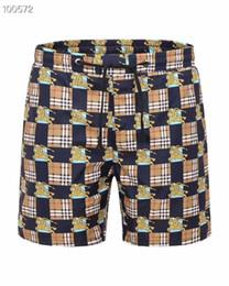 $enCountryForm.capitalKeyWord UK - Wholesale 2019 SummerWaterproof Fabric Shorts New designer Board short Quick Drying SwimWear Printing Board Beach Pants Men Swim Shorts