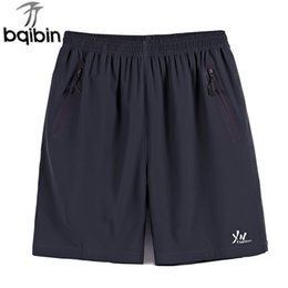 mens shorts 7xl NZ - Summer Quick Drying Bermuda Masculina Men Shorts Short Homme Mens Board Shorts Sporting Sweatpants BIG Size 7XL,8XL,9XL