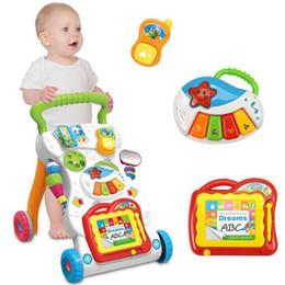 $enCountryForm.capitalKeyWord Australia - [TOP] Multi-function Adjustable Car Baby Walker Car Help Walk Activity Music phone + Electronic organ + Drawing board baby toy