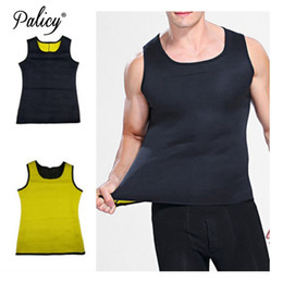 55e7abd06 Mens Shapers Vest for Weight Loss S To 5XL Shapewear Man Sweat Vest  Neoprene Suit Sauna Body Shaper Waist Trainer Male Plus Size