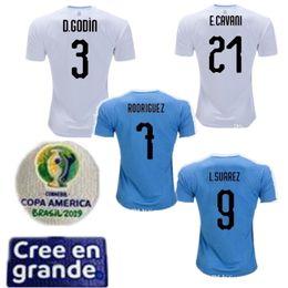 $enCountryForm.capitalKeyWord NZ - 2019 Copa America Uruguay Soccer Jersey Kids kit 9 L.suarez 21 E.cavani Soccer Shirt D.GODIN Away National Team Football Uniforms