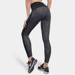 $enCountryForm.capitalKeyWord Australia - Sport Leggings Women Running Tights Workout Fitness Clothing Jogging Running Pants Gym Tights Stretch Print Sportswear