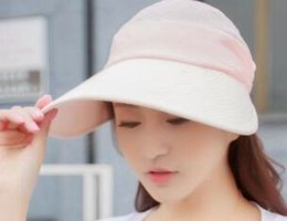 Big Head Hats For Men Australia - Summer women s sun-shading hat anti-uv 003d9eaf97c